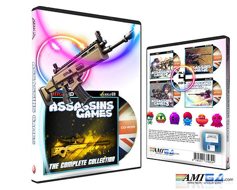 Assassins Games Complete collection DVD packaging