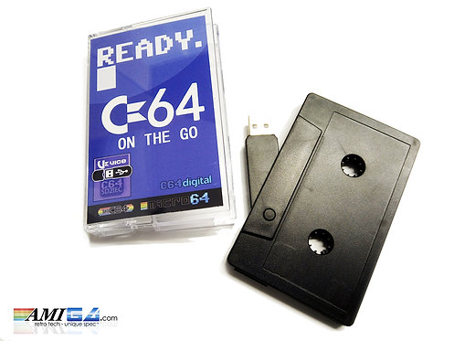 Ready C64 on the Go! USB cassette