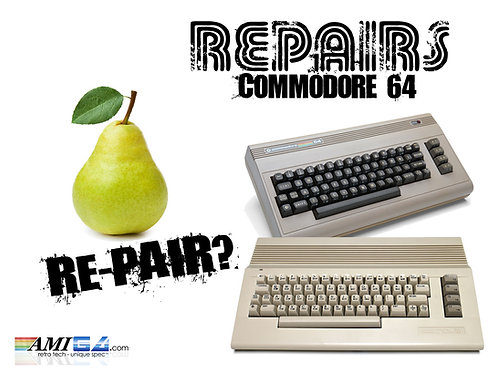 Commodore 64 Repair Service UK