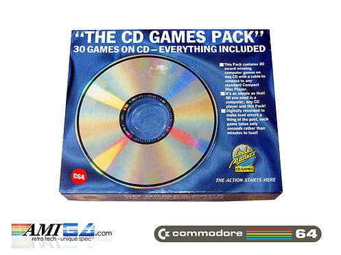 The CD Games Pack Commodore 64 Box front