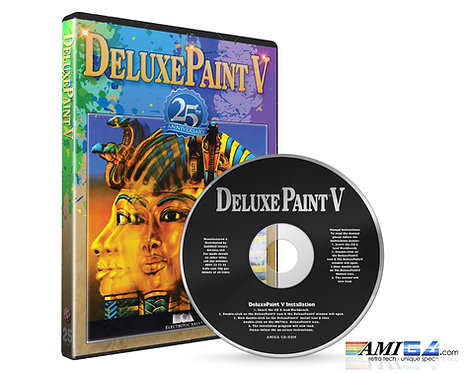 Deluxe Paint 5 Amiga CD  25th Anniversary