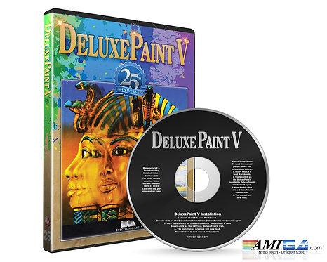 Deluxe Paint 5 Amiga CD  25th Anniversary