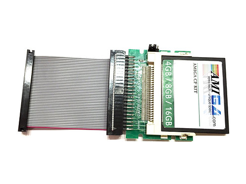 CF Card and Adapter for Amiga A1200
