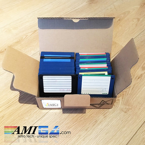"Amiga 3.5"" floppy disks - Floppies DSDD"