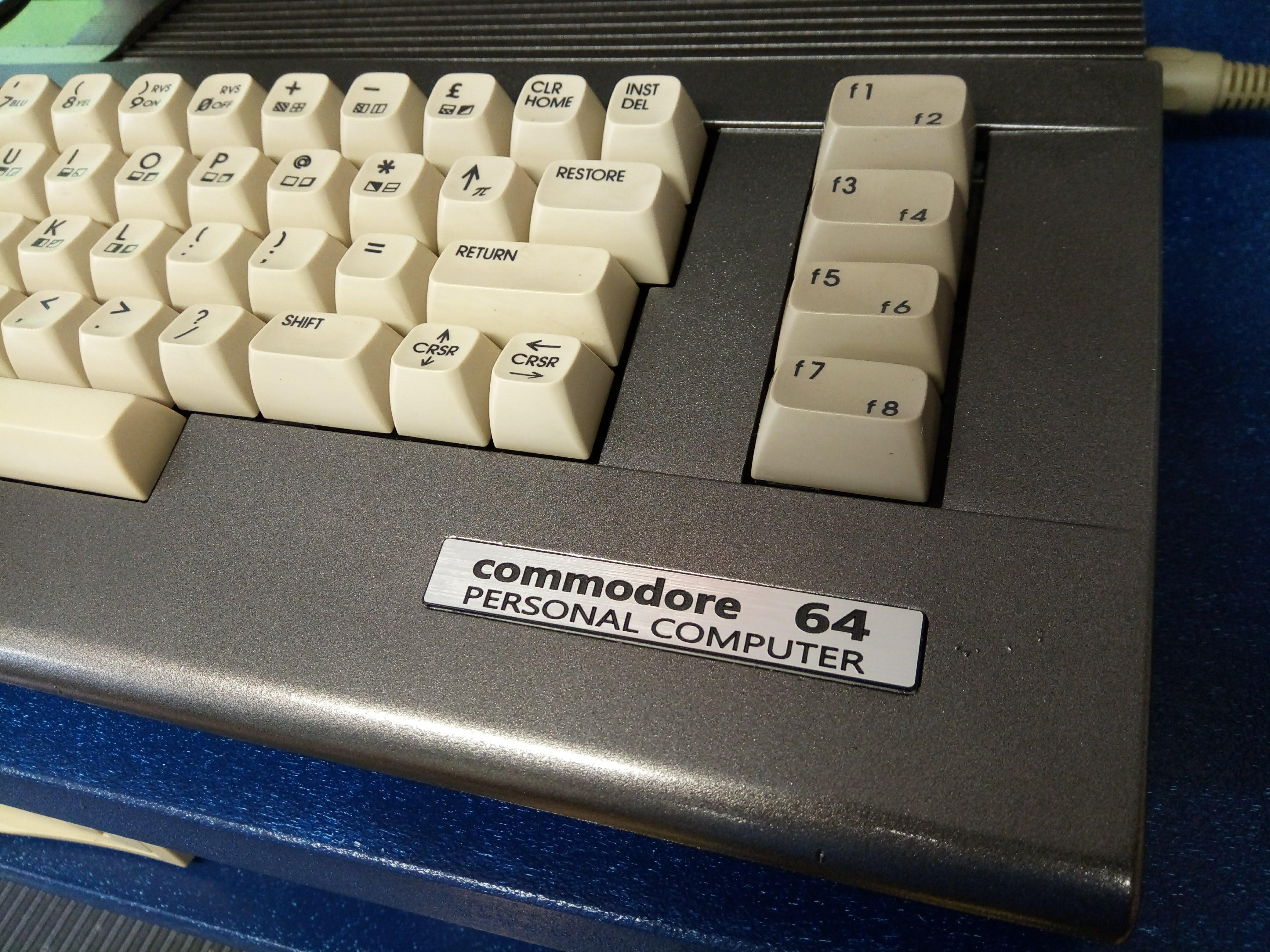 Gun Metal Commodore 64