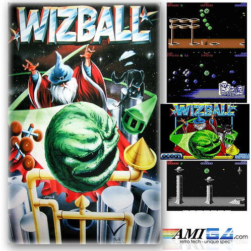 Wizball for Commodore 64 (Cassette) by Ocean