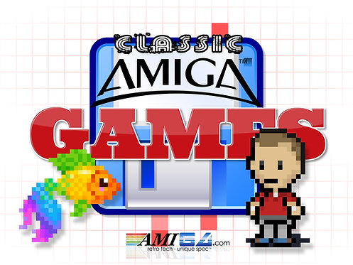 Nostalgic Amiga Games (Choice of Original Disks)