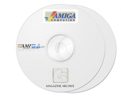 AMIGA COMPUTING PDF Magazine Archive on 2 x DVD-ROM