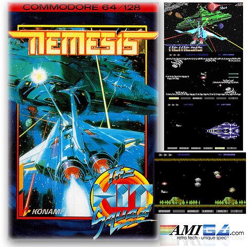 NEMESIS for Commodore 64 (Cassette) by Konami