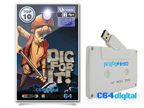 C64Digital Game collection for Commodore 64 on USB
