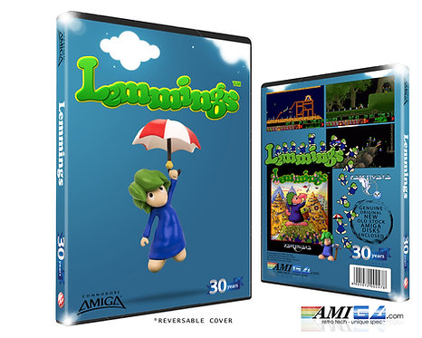 Lemmings | 30th Anniversary Edition (Amiga Disk)