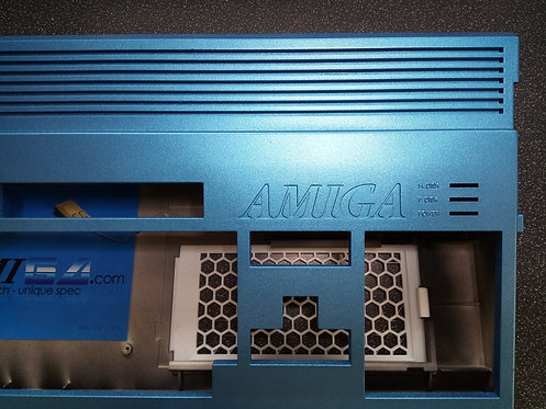 Metallic Blue Amiga 1200 Case