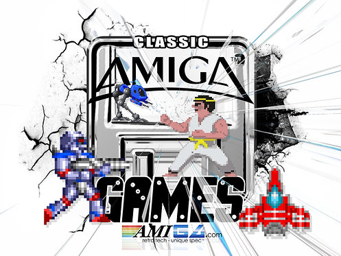 Classic AMIGA games logo