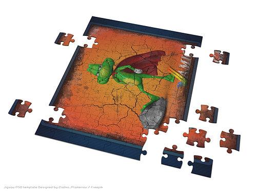 AMIGA SuperFrog Jigsaw Puzzle