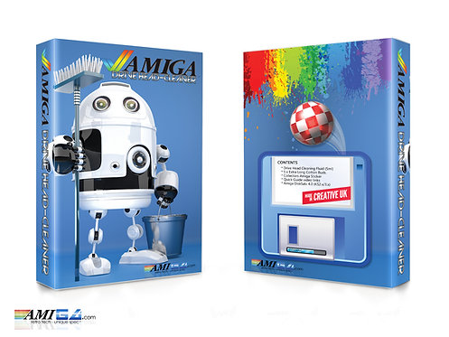 Commodore Amiga 1200 / 600 / 500+ Head Cleaner Pack