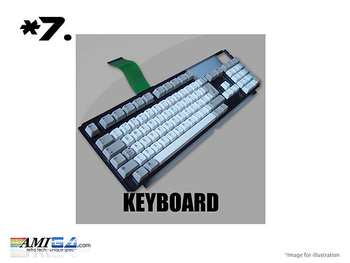 Amiga A1200 replacement keyboard