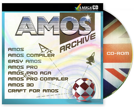 AMOS Archive AMIGA CD