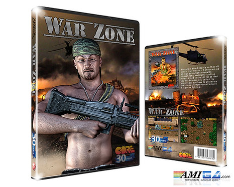 War Zone Amiga Box DVD New fan Artwork