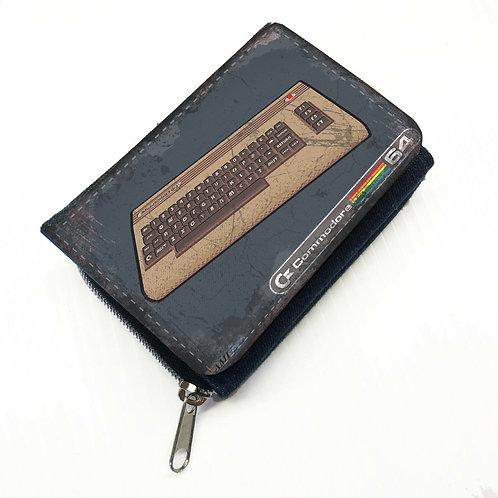 Commodore 64 Canvas Wallet