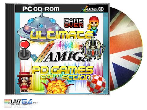 Amiga Public Domain Games ADF Collection CD-ROM