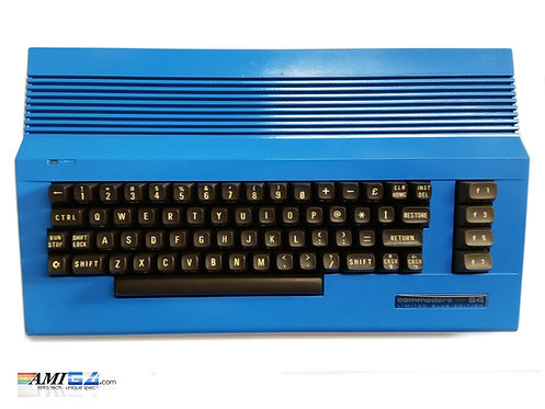 Limited Blue Edition Commodore 64 C64 top