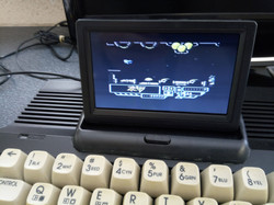 Small LCD screen on C64