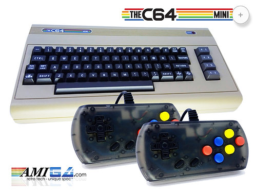 TheC64 Mini with 2 USB controllers