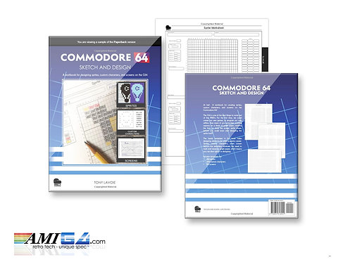 C64 Sketch and Design: Workbook for designing sprites Book