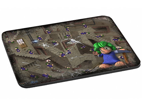 Amiga Game Lemmings printed Mouse Pad