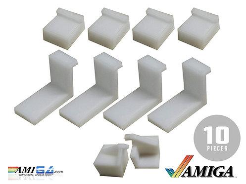 Amiga case clips for Amiga 600 and Amiga 1200