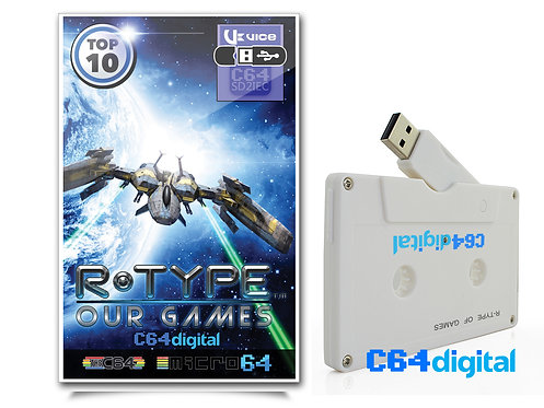 C64Digital USB for Commodore 64 R-Type