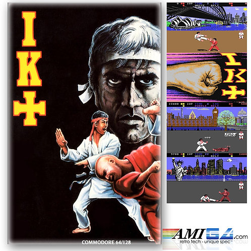 International Karate+ (IK+) for Commodore 64 (Cassette) by System 3