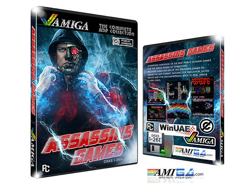 Assassins Games - Complete Amiga ADF Collection