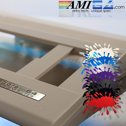 C64 replacement case (choice of metallic colours) C64C