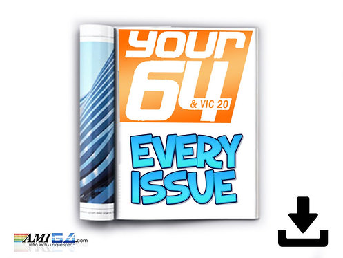 Your64 Commodore 64 Magazine Logo & Mockup