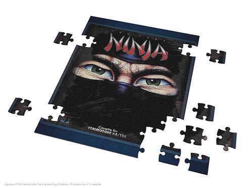 Retro Gaming Jigsaw The Last Ninja C64 Game