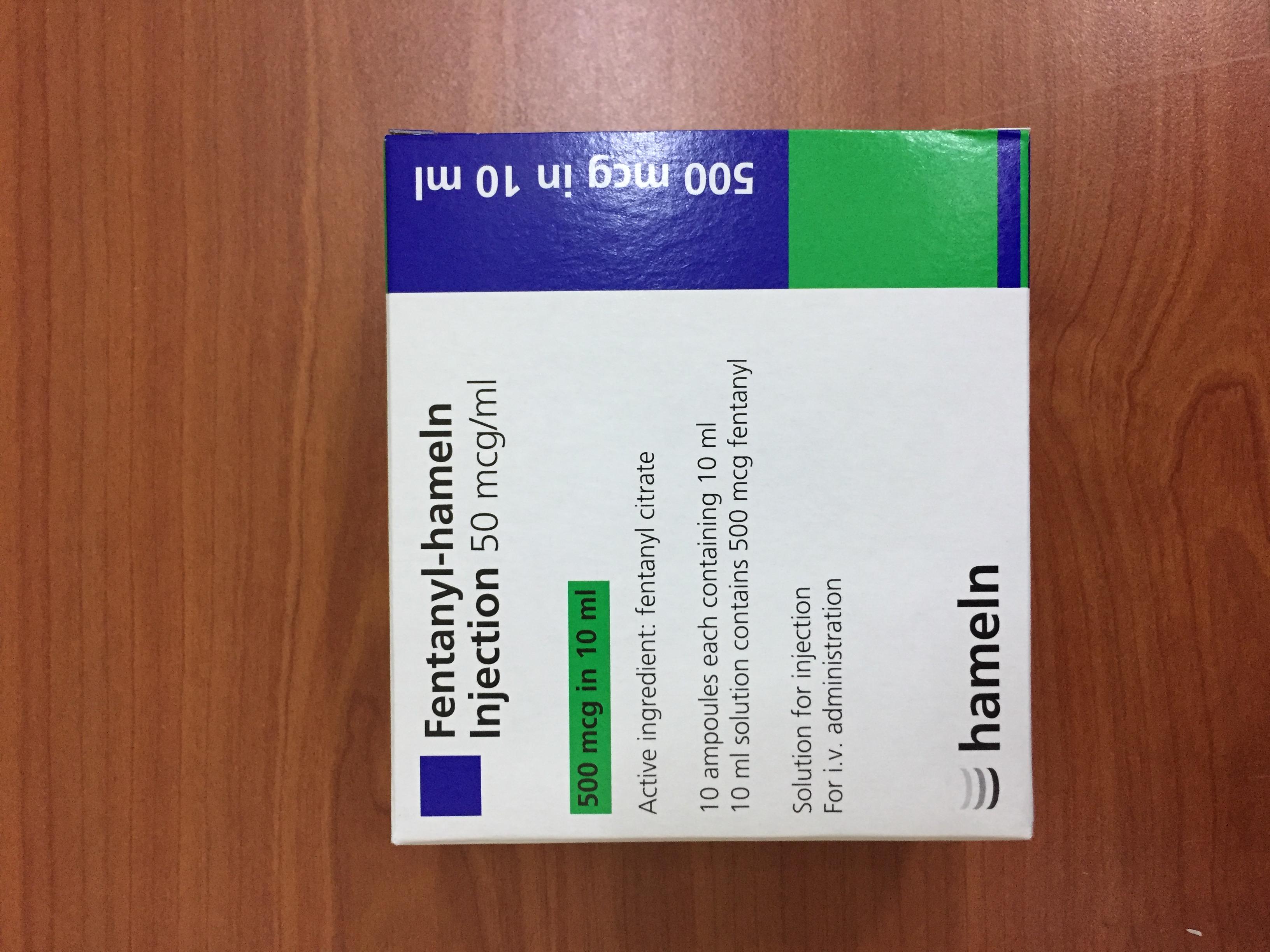 Fentanyl-Hameln Inj 50mcgml