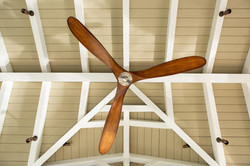 Custom patio cover ceiling