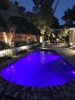 Remodeled pool, patio and landscape