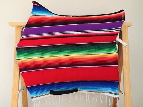 Tapis de selle - Droit -  Mexico rouge