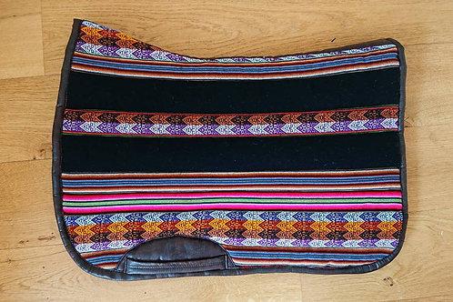 Tapis de selle -Pérou Noir