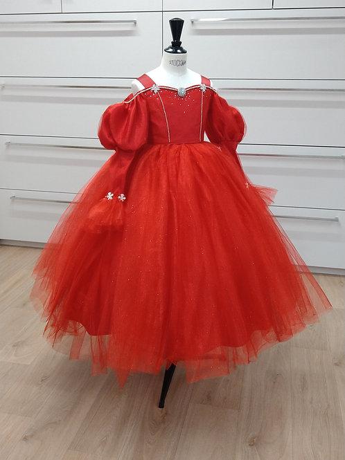 Mini Princesse - Rouge Paillette