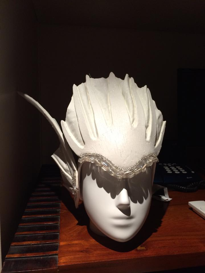 White Mermaid Headdress