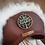 Thumbnail: Couvre-selle - Blanc naturel/noisette - Arbre de vie