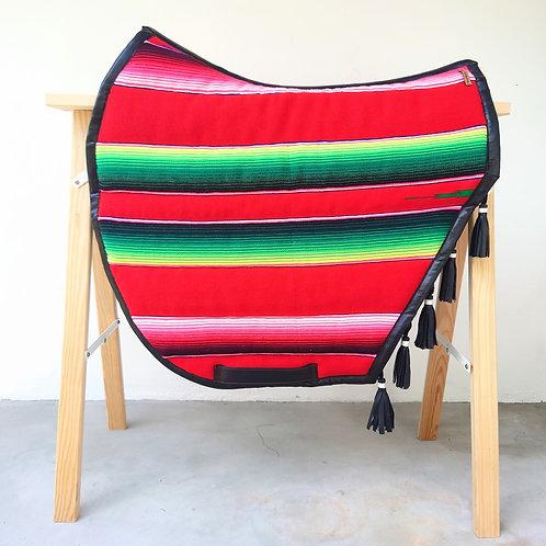 Tapis de selle - Coupé -  Mexico rouge