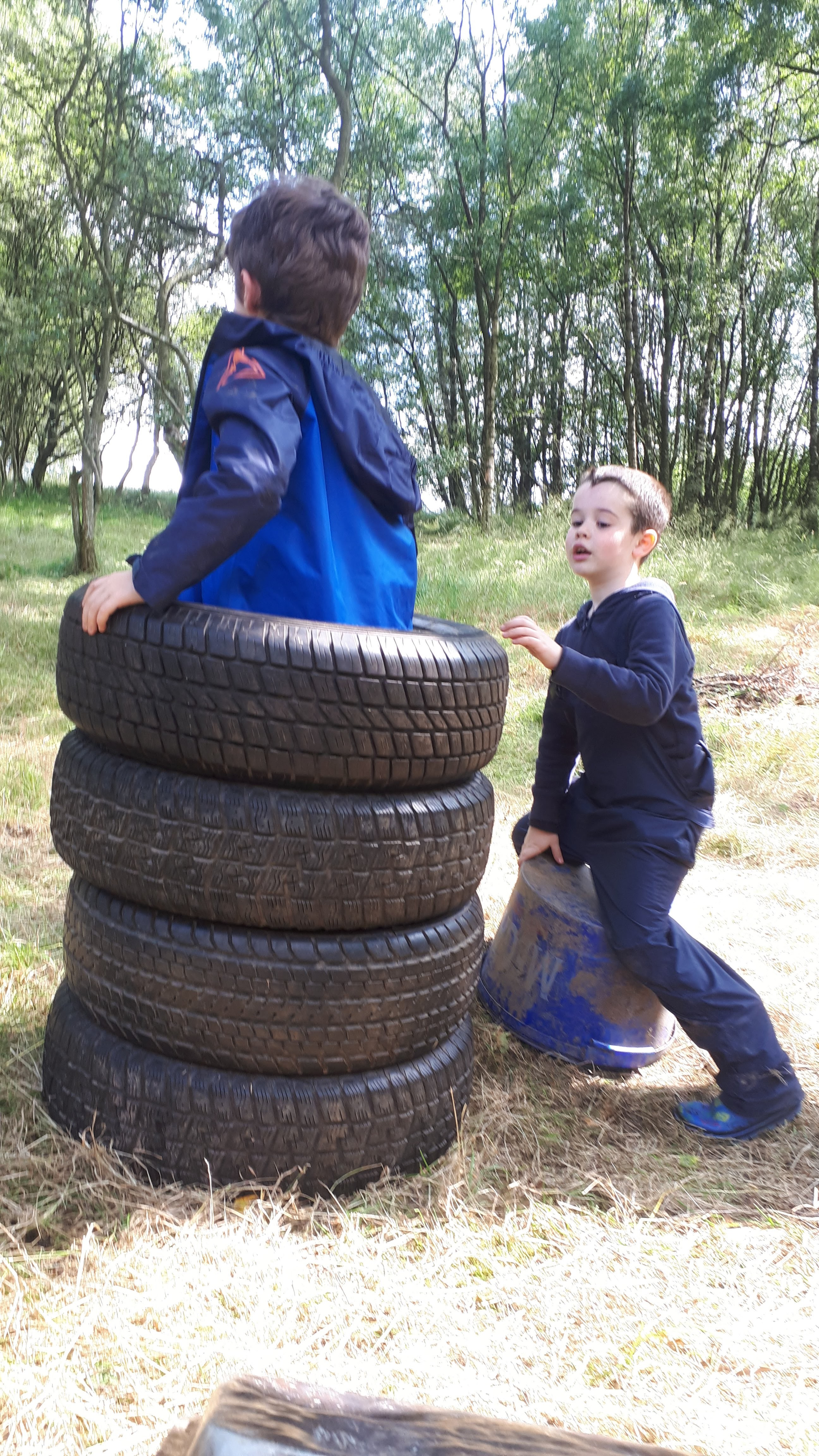 Tyre stack