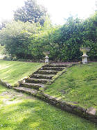 The stone steps