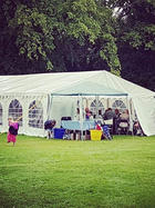Marquee for 70th Birthday party