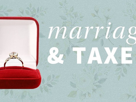 Including Tax Plans in Your Wedding Plans
