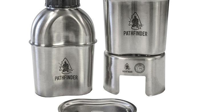 Pathfinder RVS Veldfles Kookset